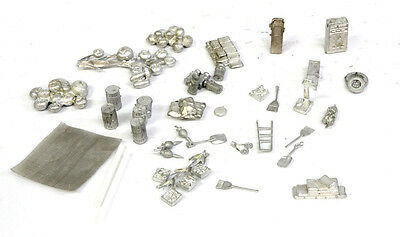 HO/HOn3/HOn30 white metal detail parts, see description...