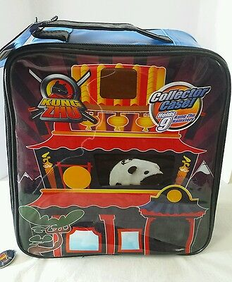 2010 Kung Zhu Pets Collector Case Holds 9 Kung Zhu Hampsters New Blue
