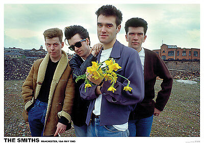 """The Smiths Manchester 1983 Color Photo Poster UK Import 23.5"""" x 33"""""""