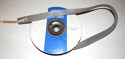 Alpha 24 Conductor 28 AWG Flat Ribbon Cable - 100 Foot Spool NOS