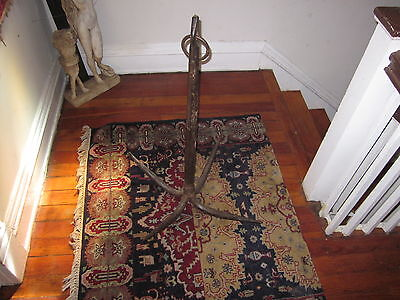 Antique Cast Iron Grapple Hook [a necessary tool for all would-be conquerors]