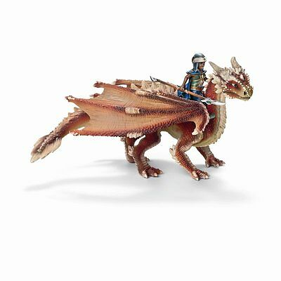 *NIB* SCHLEICH 70465 Young Dragon Rider & His Dragon - Hand Painted
