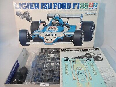 TAMIYA LIGIER JS11 FORD F1 1 20 Scale Car Plastic Model Kit No 20012 Japan