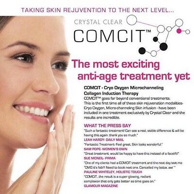 Crystal Clear Comcit Facial Oxygen Machine