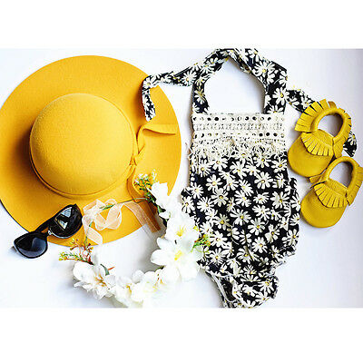 Backless Newborn Infant Baby Girls Bodysuit Romper Jumpsuit Clothes Outfits