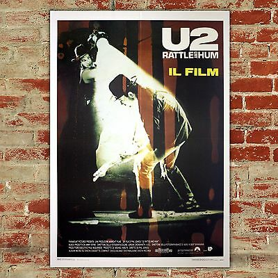 Original Movie Poster U2 Rattle And Hum - Size: 100x140 CM
