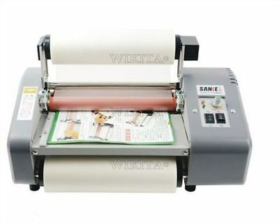 """Hottest Laminator Four Rollers New 8.7"""" Roll Laminating Machine 1Pc S"""