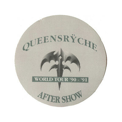 Queensryche Green Aftershow 1990-1991 Backstage Pass