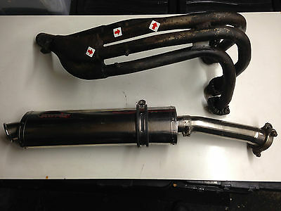 Yamaha FZR 600 Genesis 3HE Exhaust System 88 89