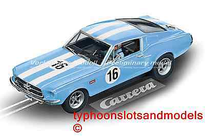 CA27525 Carrera Evolution Ford Mustang GT - No.16  USA Ltd Edition - New & Boxed