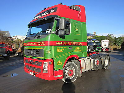 Volvo FH12-420 Globetrotter 6x2 midlift tractor unit