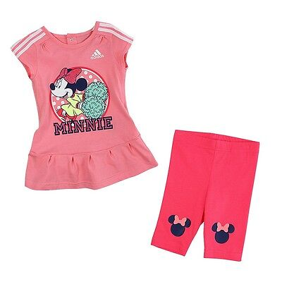 Size 12/18 Months - Adidas Originals Disney Minnie Mouse Dress With Pant Set