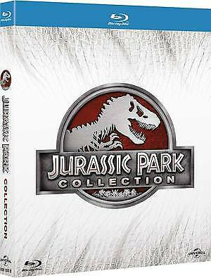 Jurassic Park Collection  4 Blu-Ray  Cofanetto  Azione
