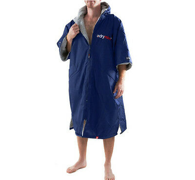 Dryrobe Exo series advance performance Navy/grey surf/swimming/triathlons Large