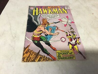Silver Age DC Comics Hawkman #2 1964 Sizzling Sparklers