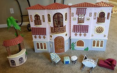 Bratz The Movie Mansion Doll House Lot Spiral Staircase With Box