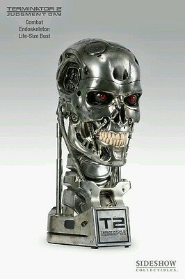 Sideshow Collectibles T-800 Life Size Collectible Endoskull Combat Edition