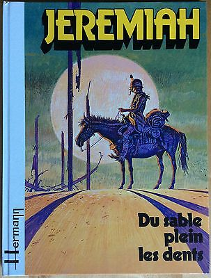 JEREMIAH Tome 2 Du sable plein les dents EO 1979 Excellent état