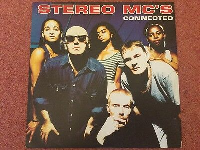 """Stereo Mc's - Connected - 1992 12"""" Vinyl"""