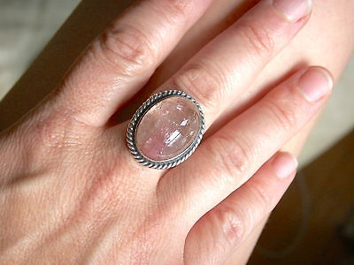 Antique Chinese Ring with Large Pink Tourmaline