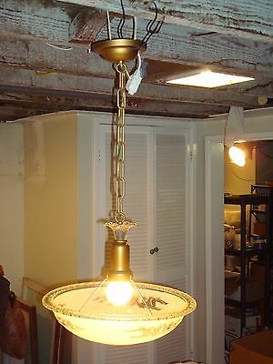 antique vintage art deco ceiling chandelier light fixture