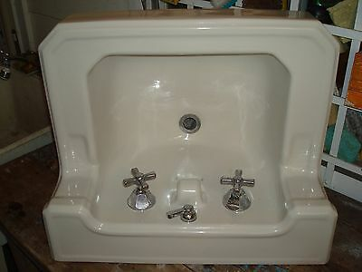 vintage antique art deco white sink by American standard