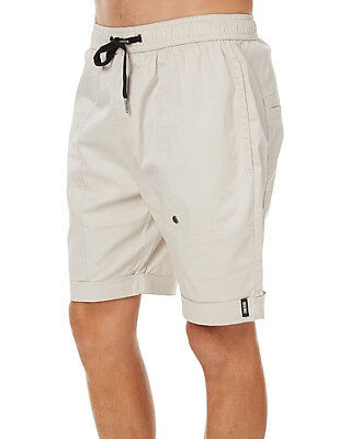 New Zanerobe Men's Blockshot Mens Short Cotton Elastane Natural