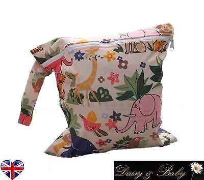 Waterproof reusable nappy wet changing bag baby kids swim dirty clothes travel
