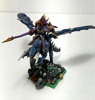 WARHAMMER  SIGMAR Vampire Lord on Abyssal Terror METAL VAMPIRE COUNT Pro Painted