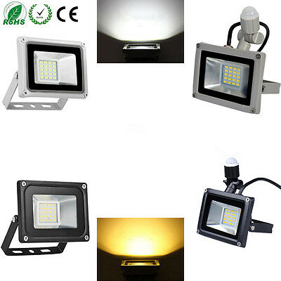 LED Floodlight 20W PIR Motion Sensor Floodlight Outdoor Lamp IP65Cool/Warm White