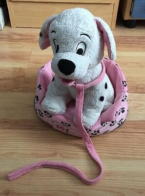 Disney 101 Dalmatians Plush Dog With Bed