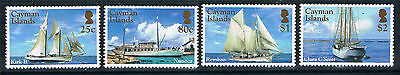 Cayman Islands Yachts Boats 2016 Superb Color Tab Set  Mnh