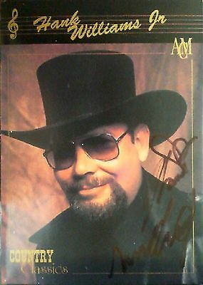 Hank Williams Jr.Autographed Country Classic Trading Card No.49
