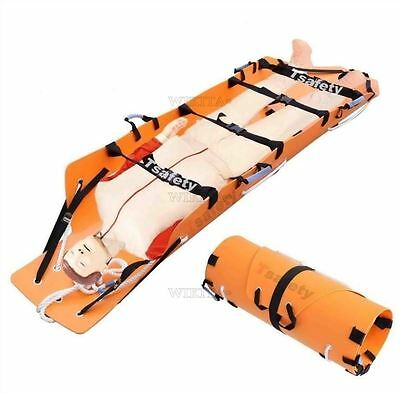 Well Height Rescue Fire Emergency Folding Multifunctional Lift Roll Stretcher G