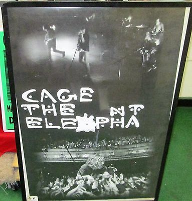 Cage The Elephant Poster Rare New 2015 Limited Production Heavy Metal  Live