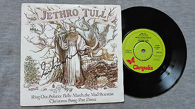 Jethro Tull – ''Ring Out, Solstice Bells... Hand Signed By Ian Anderson.