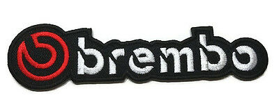 New Brembo Sport Car Racing Auto Logo Embroidered Sew Iron On Patch Shirt Po546