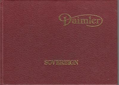 Daimler Sovereign 4.2 & Double-Six Series 3 Orig.1979 Owner Instruction Handbook