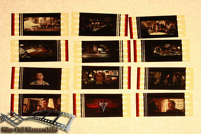 Ghostbusters - 12 35mm Film Cell Lot movie memorabilia Aus Seller
