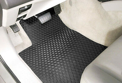 3-Piece Set - HEXOMAT - All-Weather Heavy Duty Floor Mats - CUSTOM - GMC Pickups