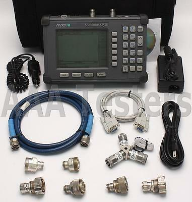 Anritsu Site Master S332B Cable Antenna / Spectrum Analyzer S332