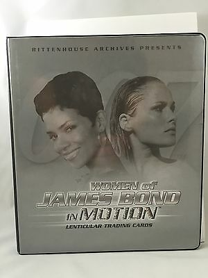 Women Of James Bond In Motion Master Set Autographs Case Toppers Box Inserts+