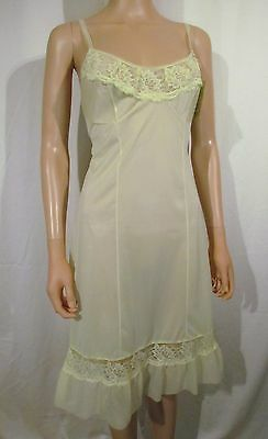 Fabulous Vintage 1940's Sheer Nylon Slip Size 36 (UK10-12) BNWT
