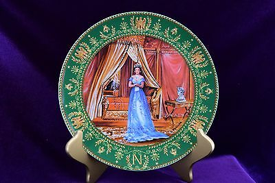 1986 Le Souvenir - The Memory Commemorative Plate Claude Boulme