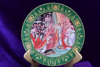 1985 Sacre de Napoleon - The Coronation of Napoleon Claude Boulme Plate