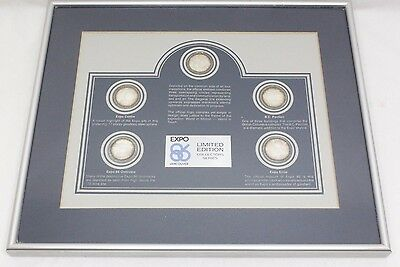 EXPO 86 Vancouver Limited Edition Collectors Series Medallion / Coin Set