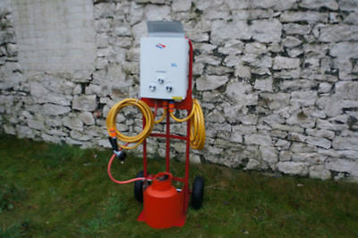 Horse & Dog Portable Showers Includes All Fittings Spray Gun Connections