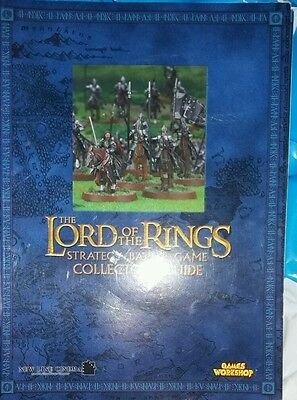 Games Workshop Lord Of The Rings Strategy Battle Game Collectors Guide/booklet