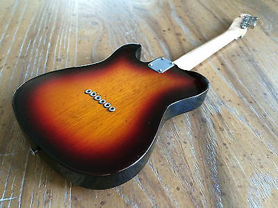 John Frusciante RHCP Officially Licensed Fender Sunburst Telecaster Mini Guitar