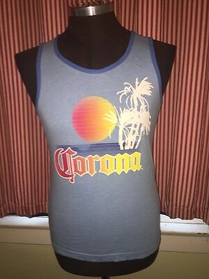 Corona Extra Beer Tank Top Shirt Small Officially Licensed